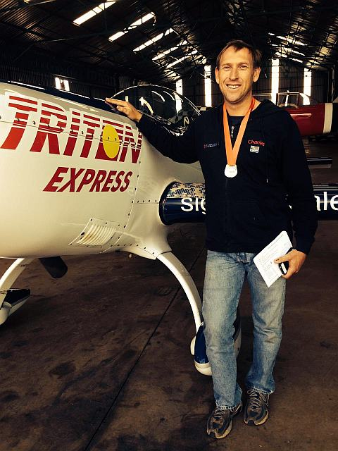 Pilot Charles Urban