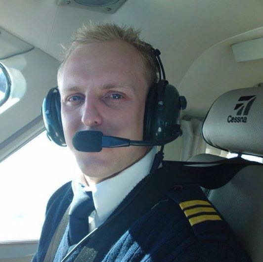 Pilot Anthony Kaiser