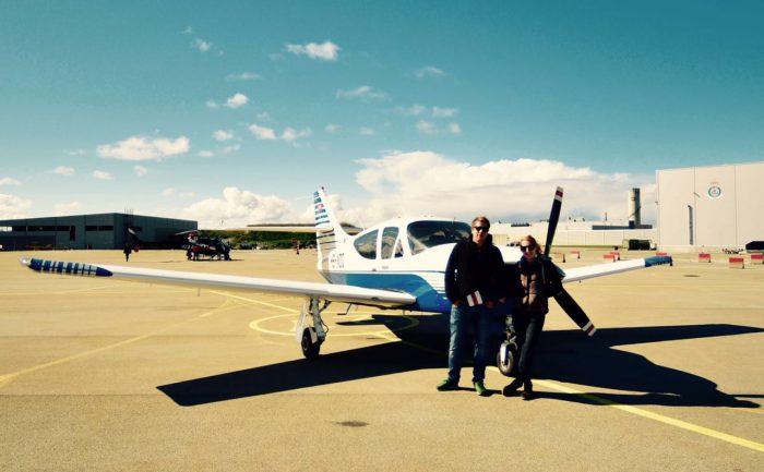Pilot Daniel and Charlotte