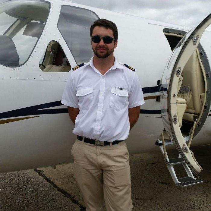 Pilot Dayne Munro