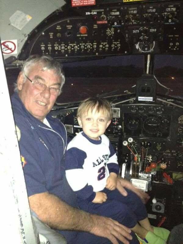 Pilot Derek Hopkins