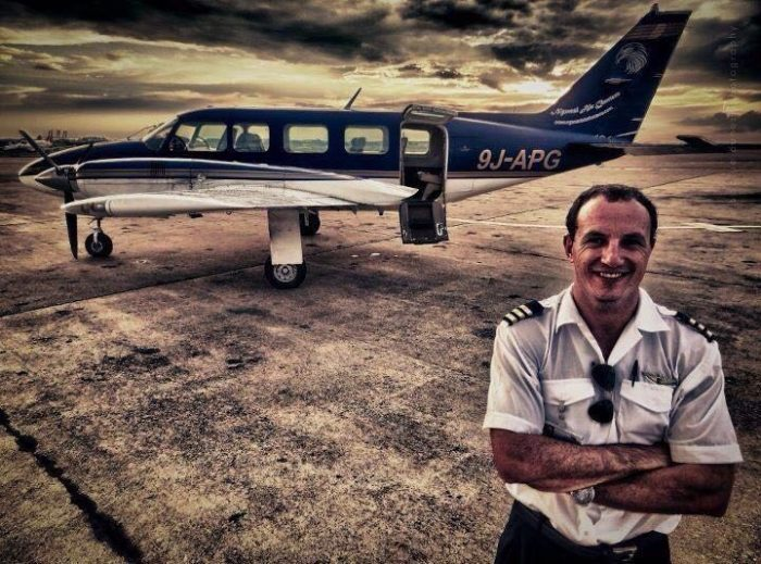 Pilot Felix Gosher