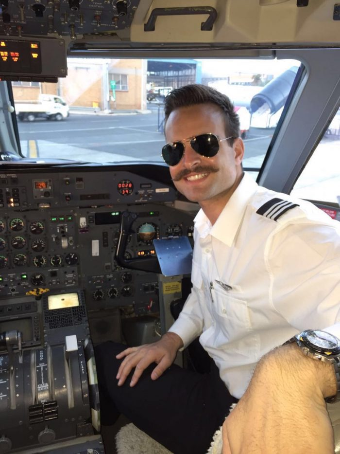 Pilot Jonathan Thompson