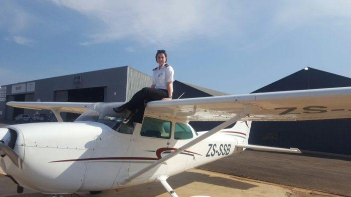 Pilot Kirsty Henderson