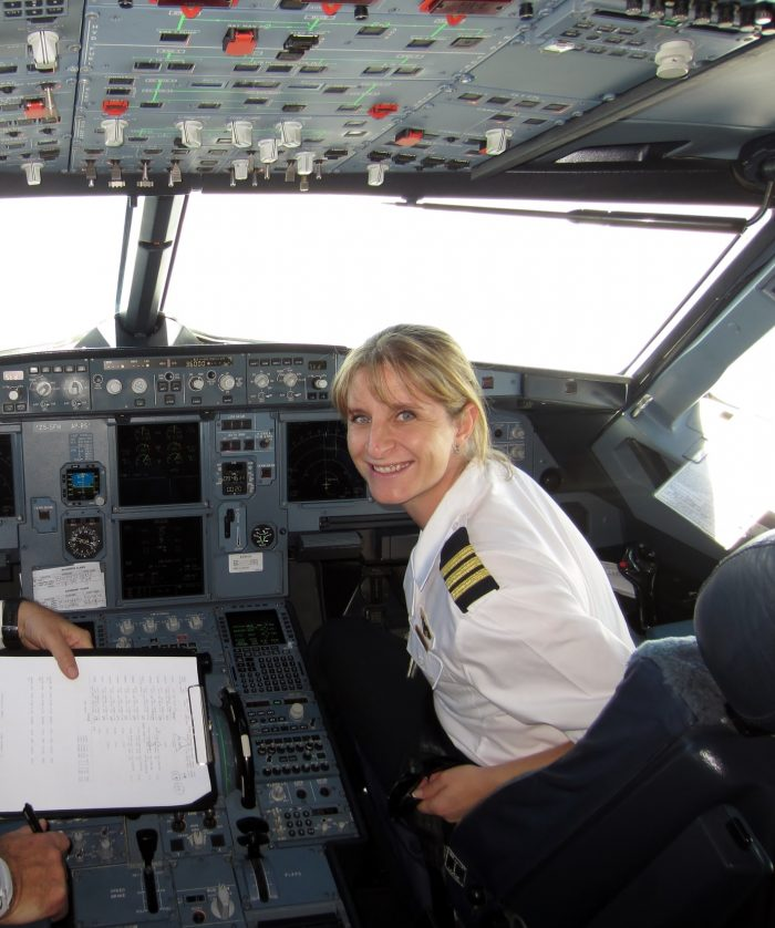 Pilot Michelle Coombes