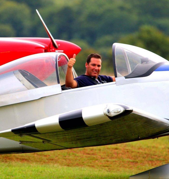 Pilot Ryan Beeton