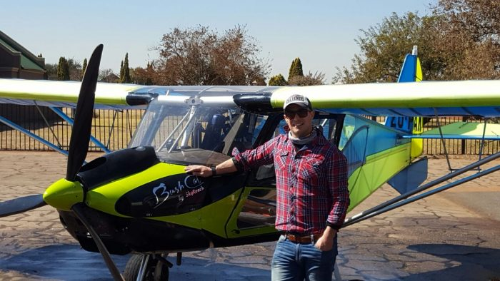 Pilot Tarquin Gillbee