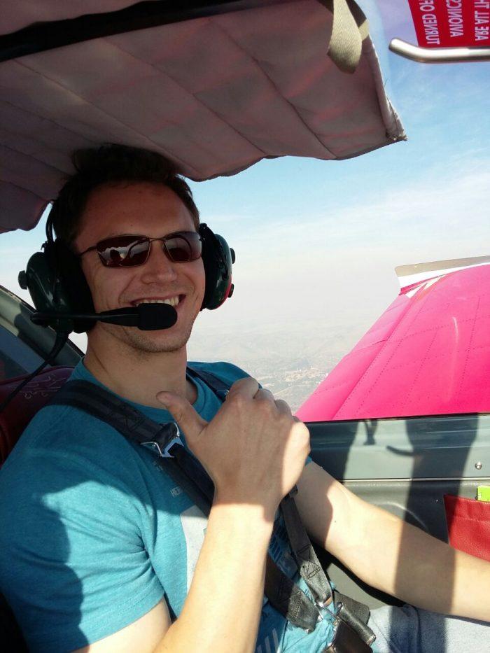 Pilot Tiaan Fourie