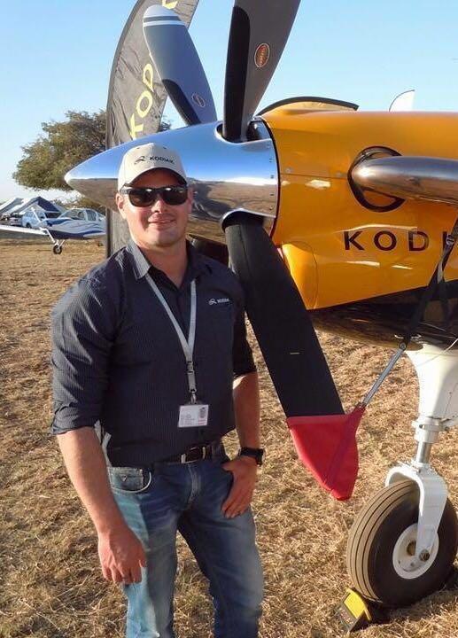 Pilot Eugene Prenzler