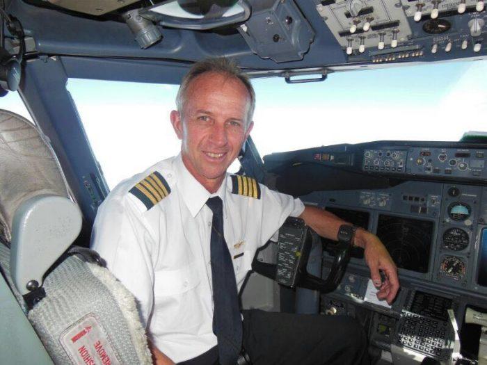 Pilot Francois Naude